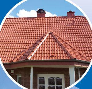 Fertige Dachfläche nach der Behandlung durch PROFATEC®. Dachreinigung und Dachbeschichtung.