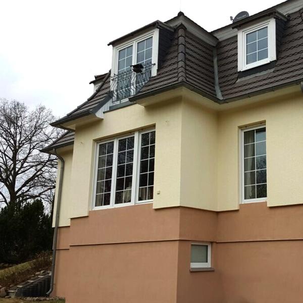 Fassadenbeschichtung einer Villa durch PROFATEC®