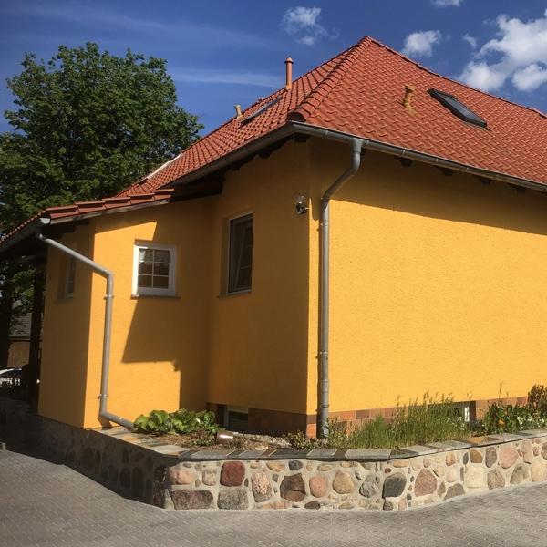 Beschichtung einer Fassade Mehrfamilienhaus durch PROFATEC®
