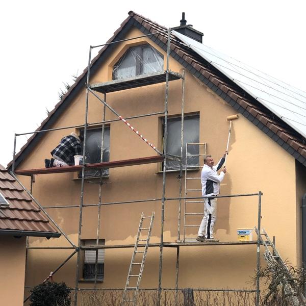 Fassadenbeschichtung Bauarbeiten Profatec