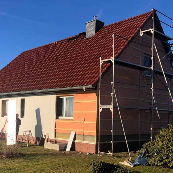 Unterkonstruktionen vorgehängter Fassaden von PROFATEC® ohne Wärmedämmung