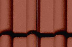 Dachbeschichtung Farbe Ziegelrot