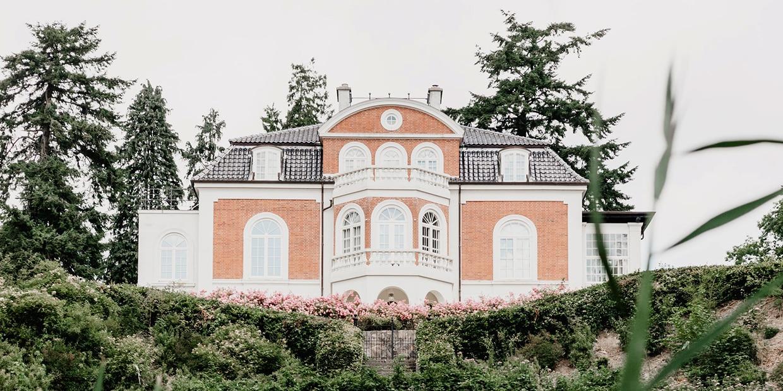 Profatec Villa Dach gereinigt und beschichtet, Fassadenbeschichtung, Dachbeschichtung